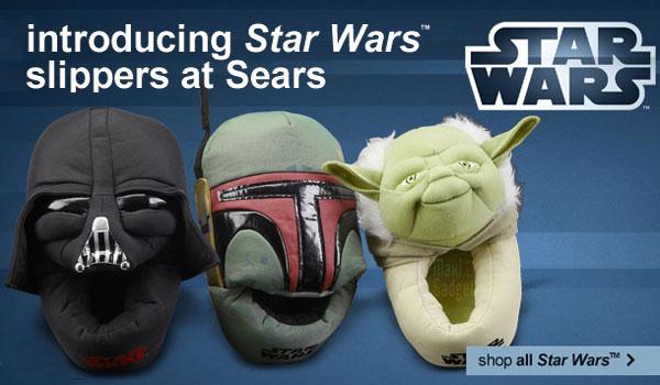 star wars pantoufles officielles pour geek