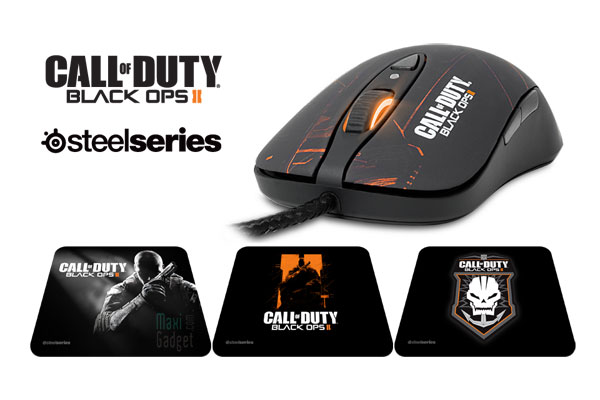 Call Of Duty Black Ops 2 Souris Et Tapis Steelseries Collector