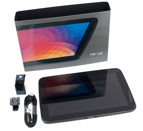 nexus 10 déballage tablette google unboxing video
