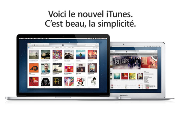 telecharger itunes11 mac pc gratuit Gratuit: Télécharger iTunes 11 Mac PC, Plus Beau, Plus Simple