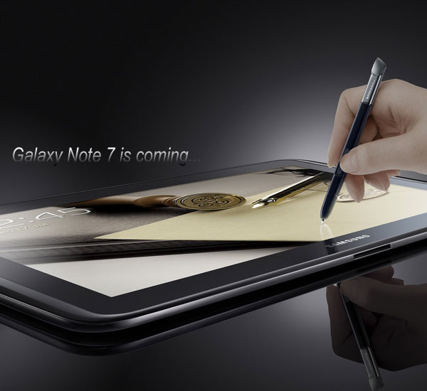 galaxy note 7 GT-N5100 arrive en 2013