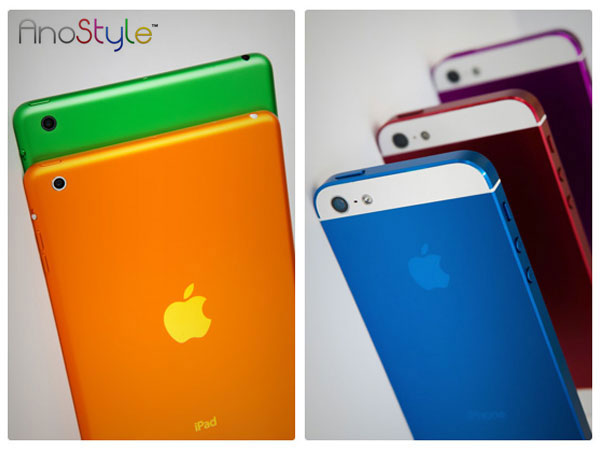 ipad mini iphone5 de toutes les couleurs Changer la couleur de son iPad Mini et iPhone 5, possible mais cher !