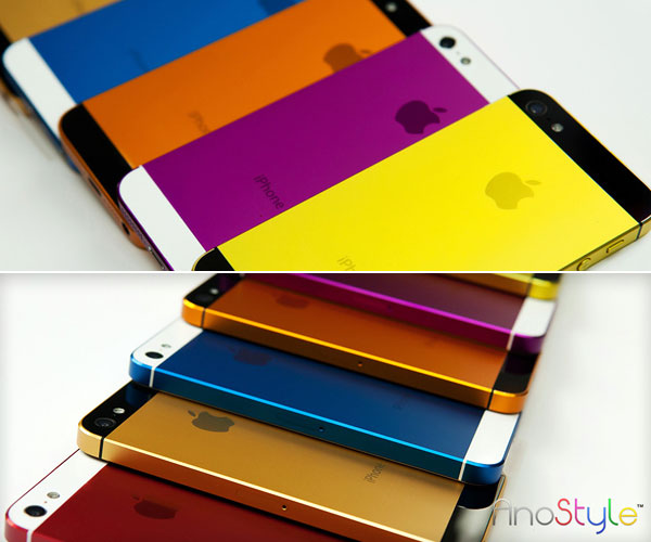changer la couleur de son iphone 5 possible mais couteux