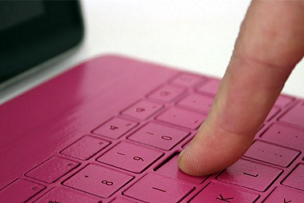 nibiqu clavier extra-plat avec protection pour tablette ipad