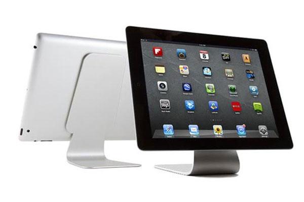 slope support ipad en alu style imac compatible toutes tablettes