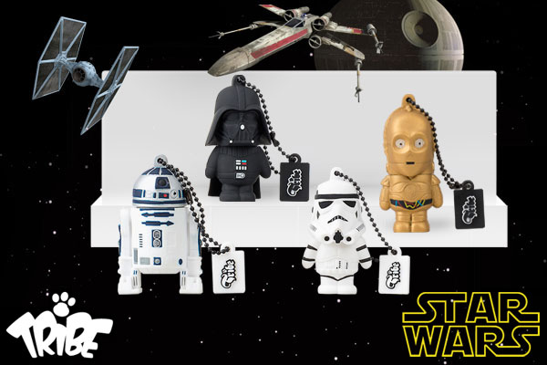 it gadget star wars usb tribe r2d2 darth vader stormtrooper yoda c3po. Black Bedroom Furniture Sets. Home Design Ideas