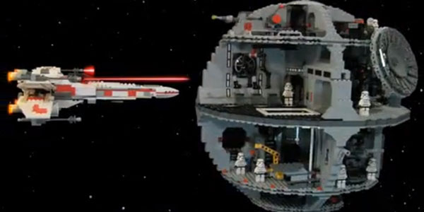 star wars trilogie en lego stop motion