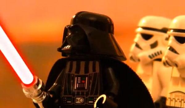 star wars la trilogie compilée dans un film d'animation lego stop motion