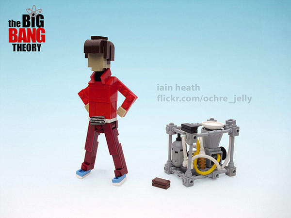 The Big Bang Theory LEGO Howard Wolowitz