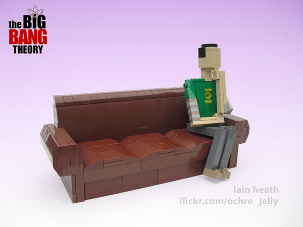 TheBigBangTheory Lego Sheldon Cooper The Big Bang Theory: Miniatures LEGO des personnages en images