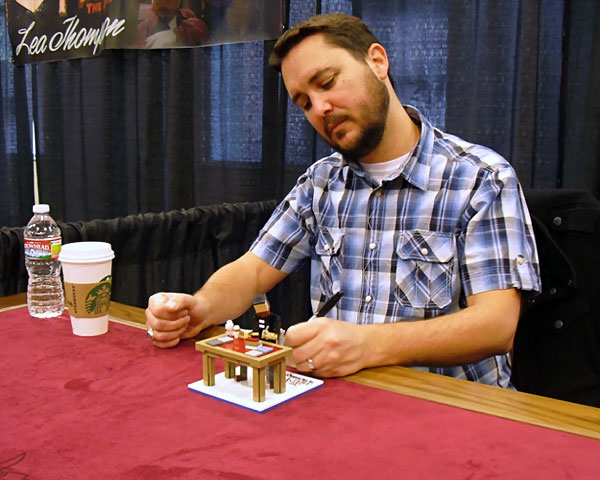 TheBigBangTheory Lego Wil Wheaton The Big Bang Theory: Miniatures LEGO des personnages en images