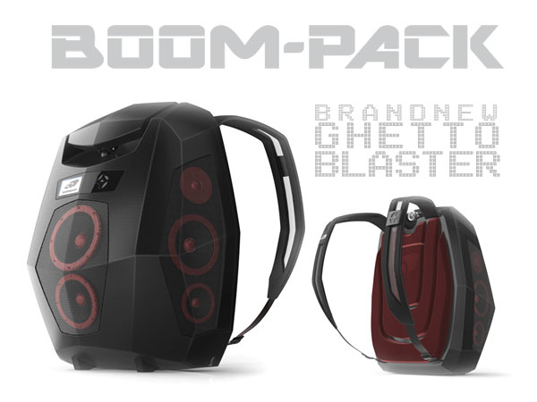 boompack sac a dos boombox pour faire la fete a tout moment
