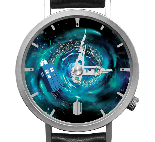 doctor who montre anniversaire 50 ans collector