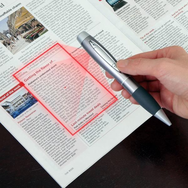 stylo Espion numérise documents et enregistre memos voaux