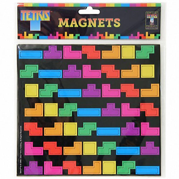 tetris magnets pack aimants frigo pour geek