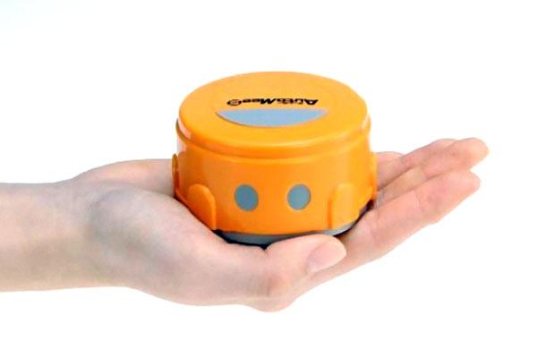 automee S robot qui nettoie ecran smartphone Robot Roomba: Mini Clone pour Nettoyer Tablette & Smartphone