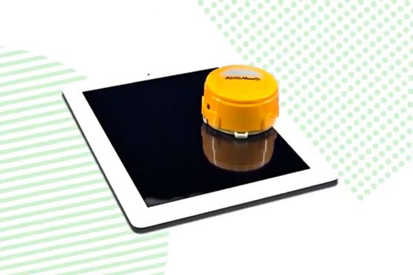 automeeS robot nettoyeur ecran tablette Robot Roomba: Mini Clone pour Nettoyer Tablette & Smartphone