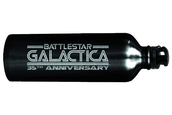battlestar galactica bouteill d eau pour les 35ans de la serie Battlestar Galactica fête ses 35 ans: Bouteille dEau Collector en vente