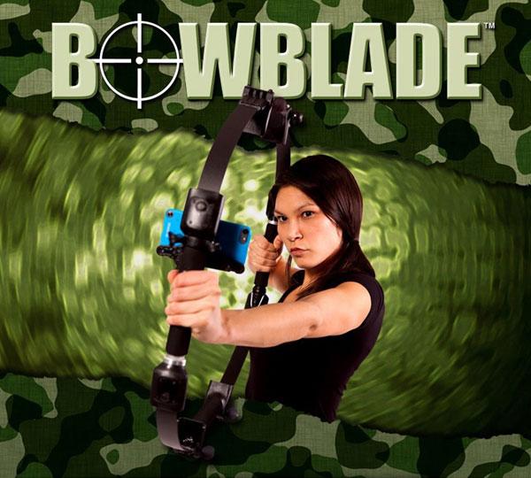 bowblade pour faire du tir a l'arc avec son smartphone