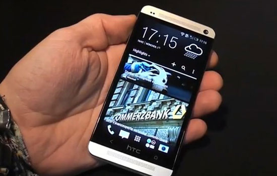 htc one m7 en video HTC One (M7): Le Super Phone se dévoile en Vidéo avant lheure