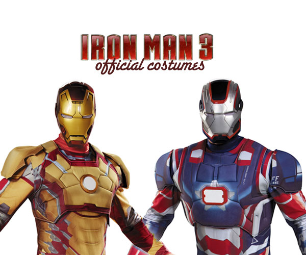 iron man 3 costumes officiels IRON MAN 3: Armure et Costume Officiel en Vente