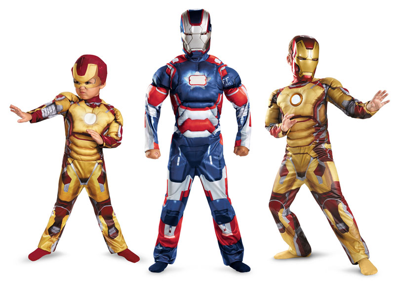 iron man3 costume enfant IRON MAN 3: Armure et Costume Officiel en Vente