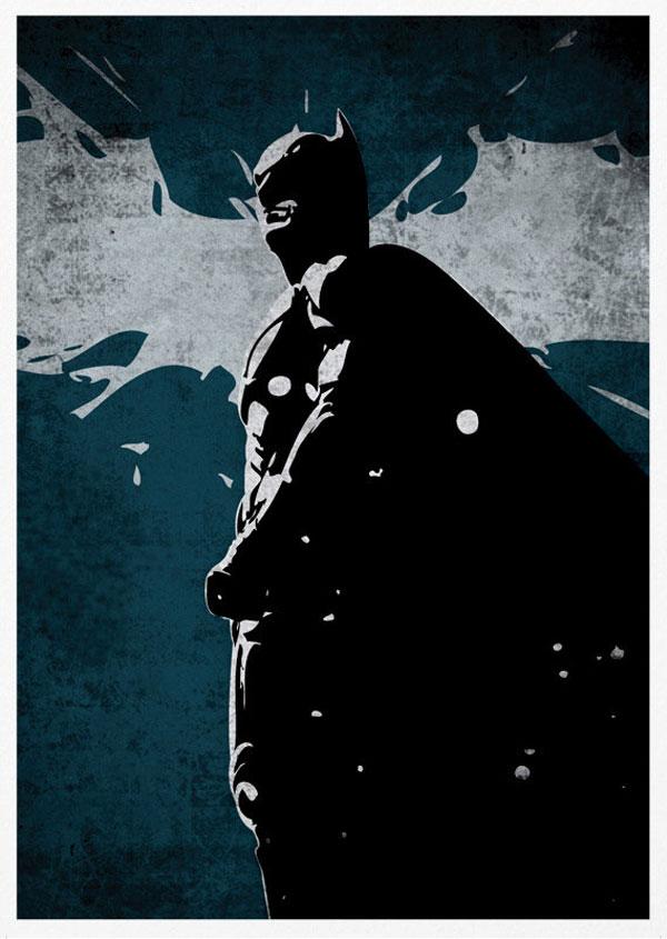 poster retro batman