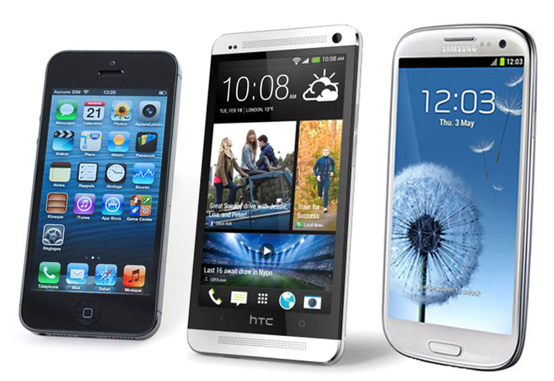 Comparatif-htc-one-iphone5-galaxy-S3