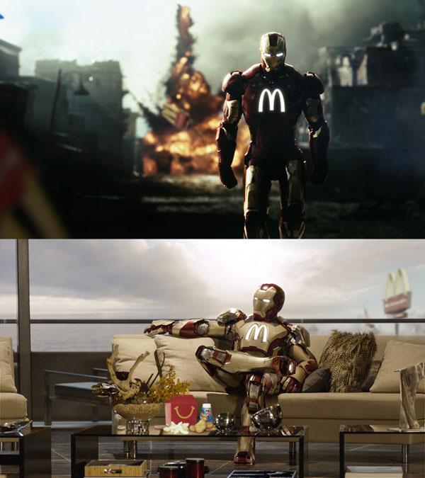 sponsors pour les super héros ! Super-heros-Iron-Man-McDonald