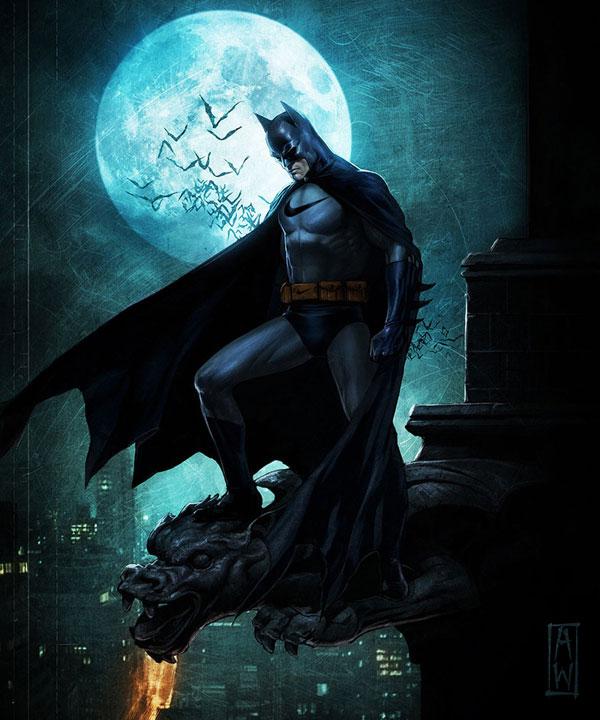 sponsors pour les super héros ! Superheros-Batman-Nike