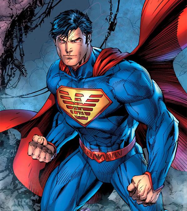 sponsors pour les super héros ! Superheros-Superman-Giorgio-Armani
