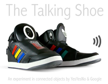 google-talking-shoes