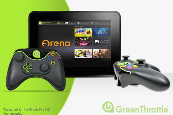 green-throttle-manette-tron-kindle-fire