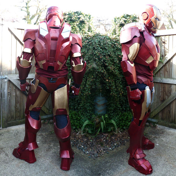 iron man armure a faire soi meme IRON MAN: Comment Construire Armure Mark VII en Images