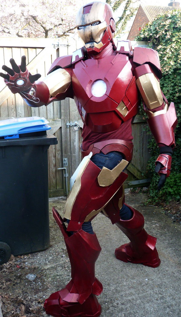 iron man armure tuto montage IRON MAN: Comment Construire Armure Mark VII en Images
