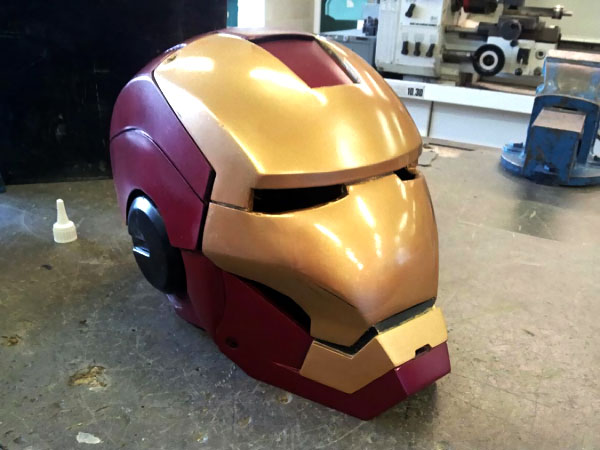 iron man casque costume a faire soi meme IRON MAN: Comment Construire Armure Mark VII en Images