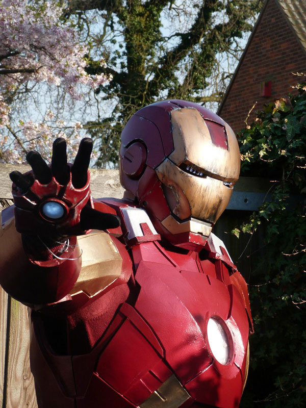 iron man costume markvii a realiser IRON MAN: Comment Construire Armure Mark VII en Images