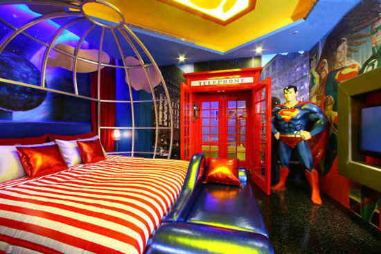 chambre-geek-superman-univers