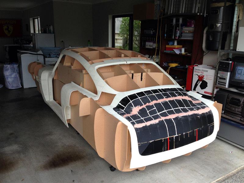 aston martin db4 impression 3D Il fabrique une Aston Martin DB4 avec son imprimante 3D