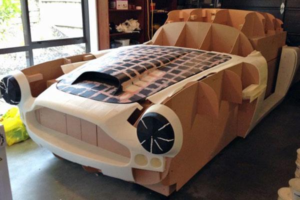 aston martin db4 replique en 3D Il fabrique une Aston Martin DB4 avec son imprimante 3D