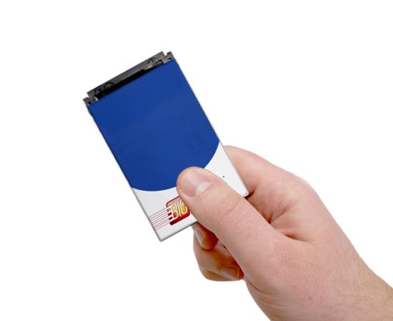 BioDigitalPC plus petit pc au monde BioDigitalPC: Plus Petit Ordinateur PC en forme de Carte Bancaire