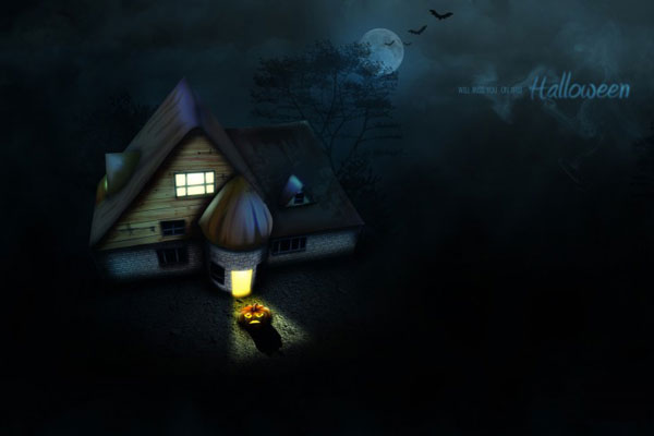 halloween wallpaper gratuit halloween house Halloween Wallpapers: 20 Fonds dEcran HD Gratuits à Télécharger