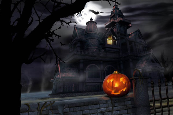 halloween wallpaper gratuit spooky house Halloween Wallpapers: 20 Fonds dEcran HD Gratuits à Télécharger