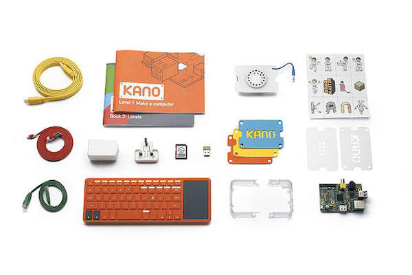 kano kit de construction ordinateur Kit de Construction Kano: Ordinateur à Faire Soi Même en 107 secondes