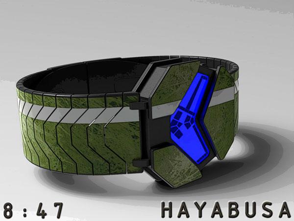 Hayabusa-Montre-LED-Design-Futuriste-HALO