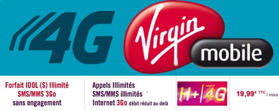 virgin-mobile-forfait-idol-4G-gratuite