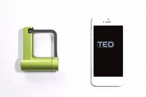 TEO-Cadenas-Connecte-deverouillage-serrure-a-distance