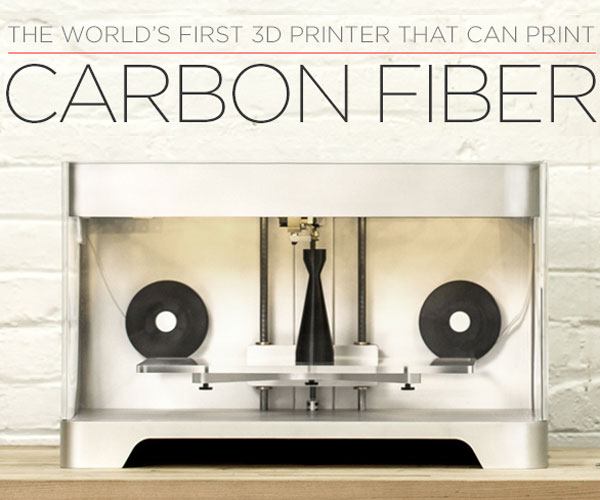 mark one imprimante 3D fibre de carbone Impression 3D en Fibre de Carbone avec Imprimante 3D Mark One