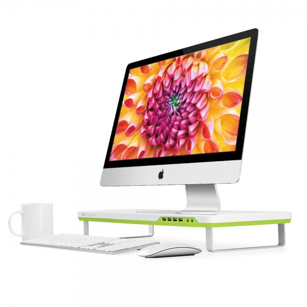 Satechi-F1-Smart-Monitor-Support-iMac-Fonctionnel-4-ports-USB-prise-casque-micro