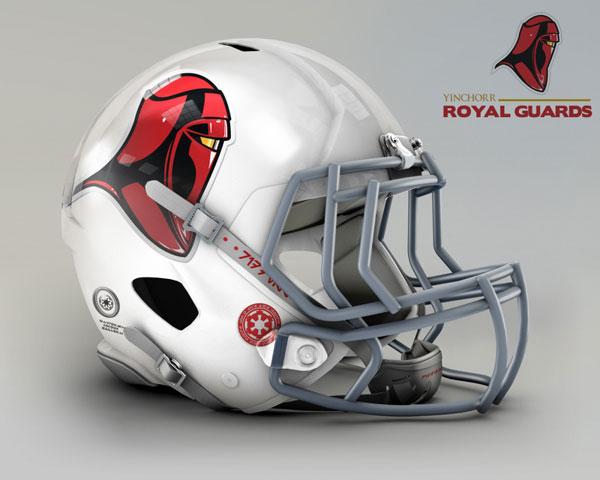 Star Wars Casques Football Americain Championnat Gfl Rfl